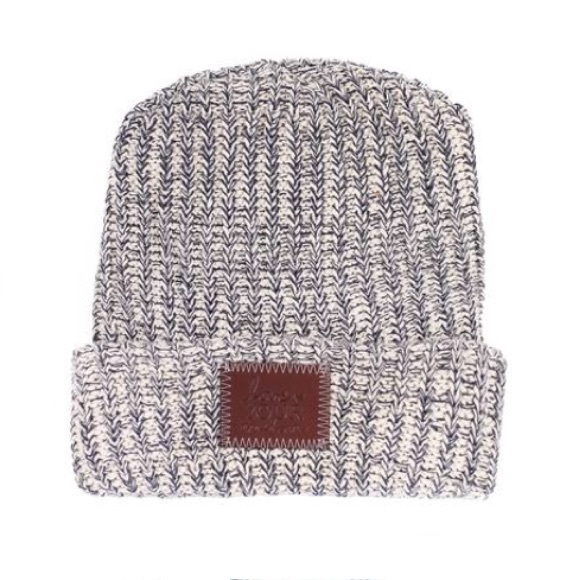 Love Your Melon Accessories - Love Your Melon Navy Speckled Cuffed Beanie 06001f4782a